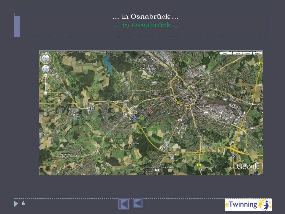 … in Osnabrück … … in Osnabrück…