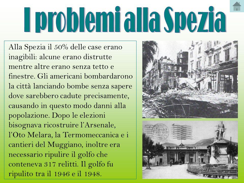 I problemi alla Spezia