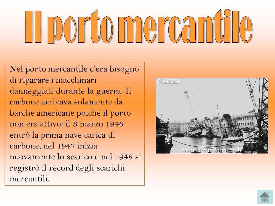 Il porto mercantile
