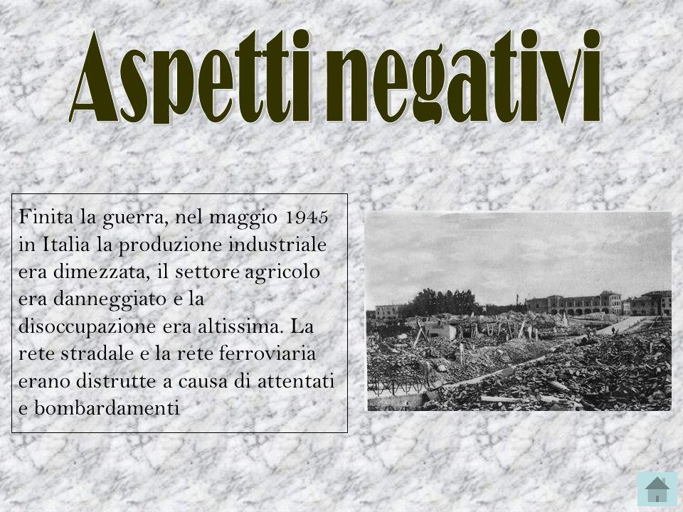 Aspetti negativi