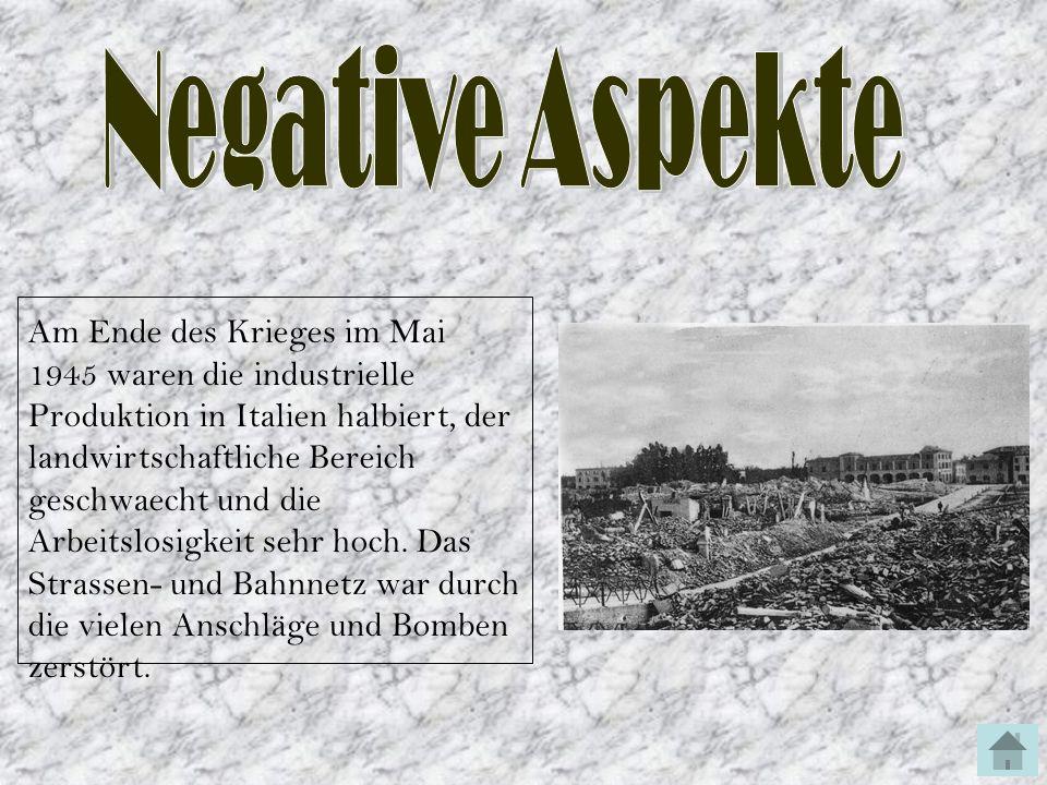 Negative Aspekte