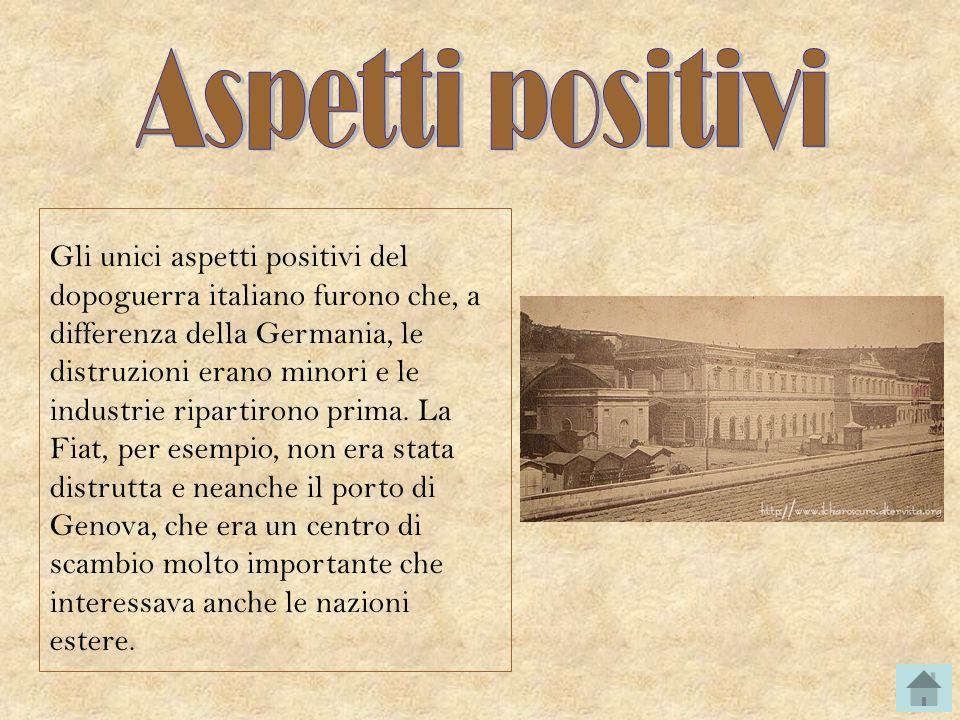 Aspetti positivi