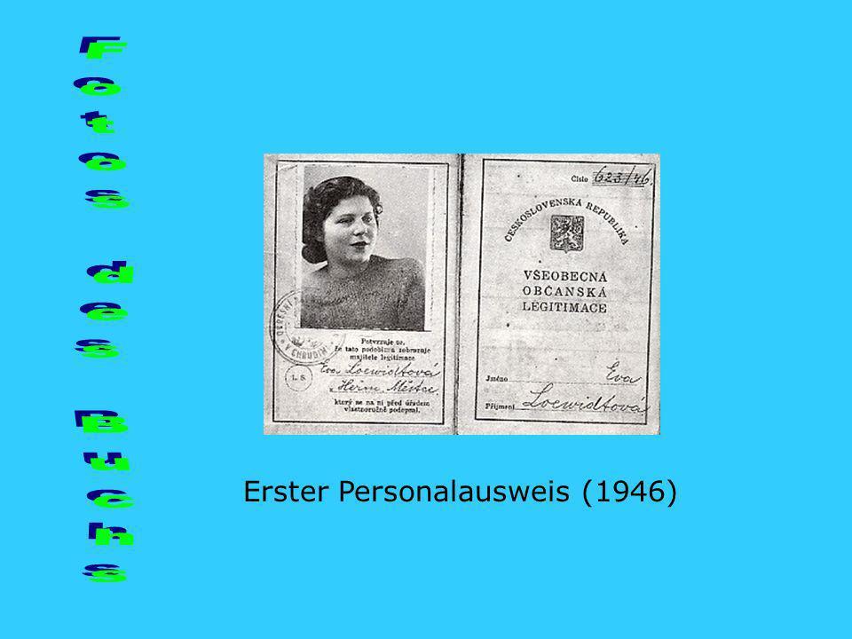 Fotos des Buchs Erster Personalausweis (1946)