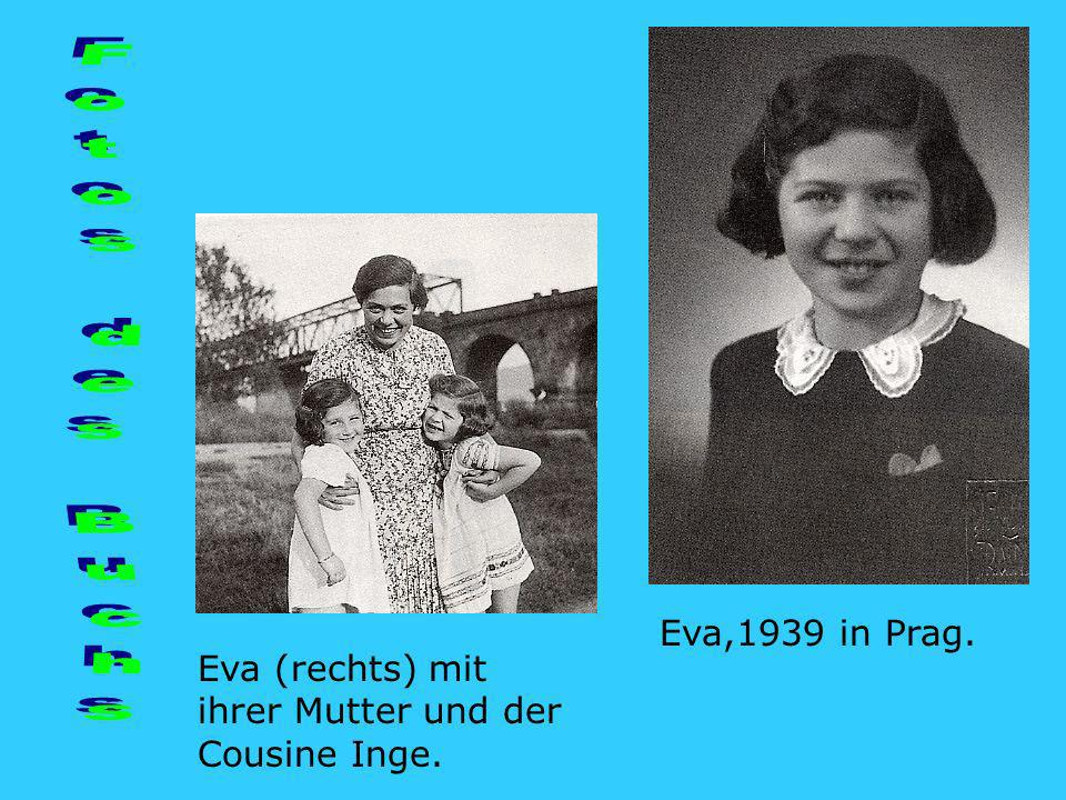 Fotos des Buchs Eva,1939 in Prag.