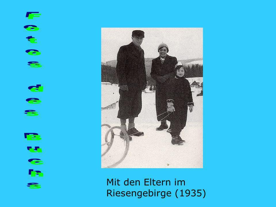 Fotos des Buchs Mit den Eltern im Riesengebirge (1935)