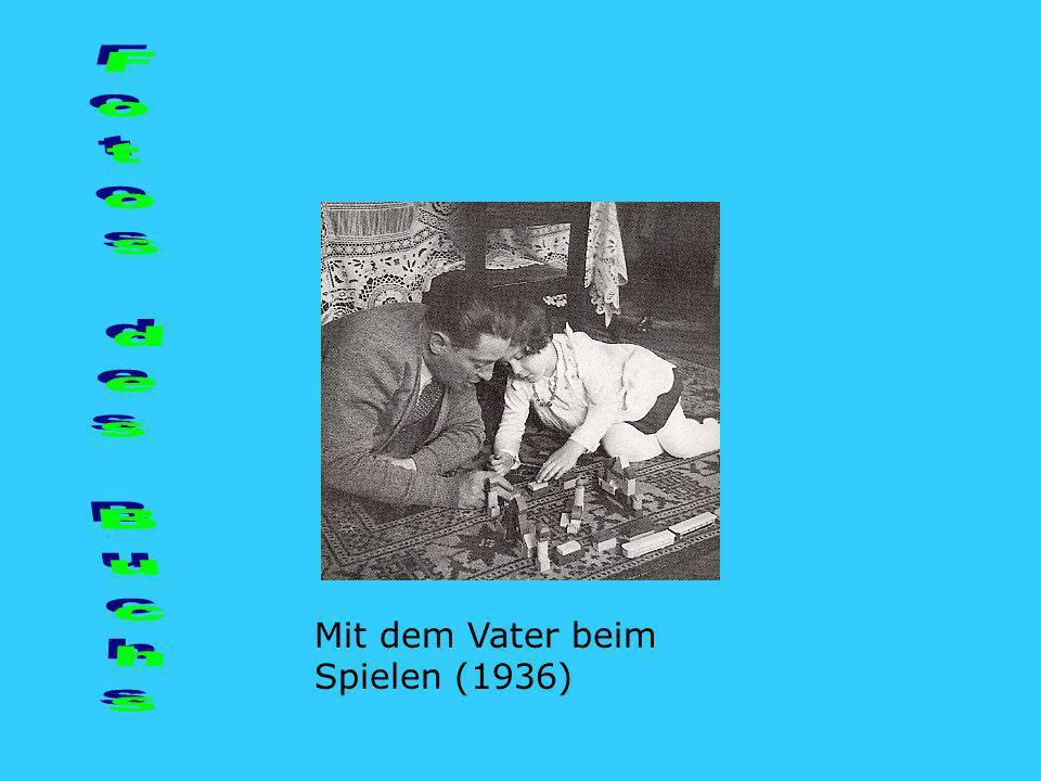 Fotos des Buchs Mit dem Vater beim Spielen (1936)