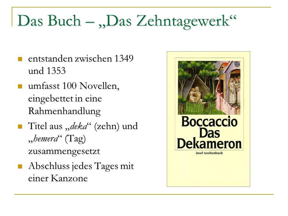 """Das Buch – """"Das Zehntagewerk"""