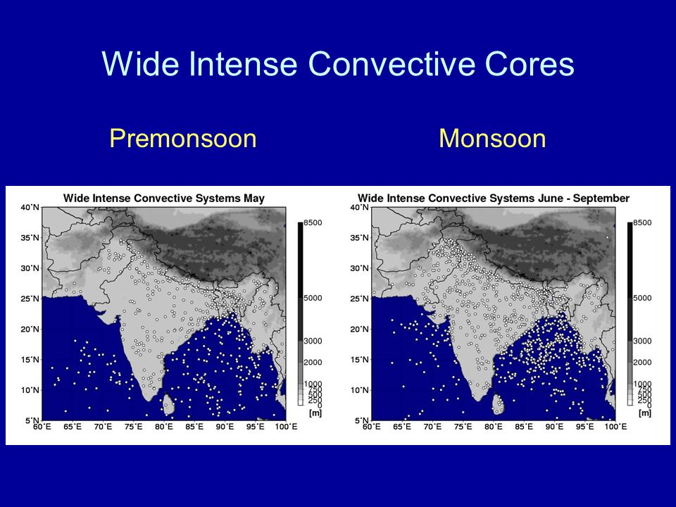 Wide Intense Convective Cores