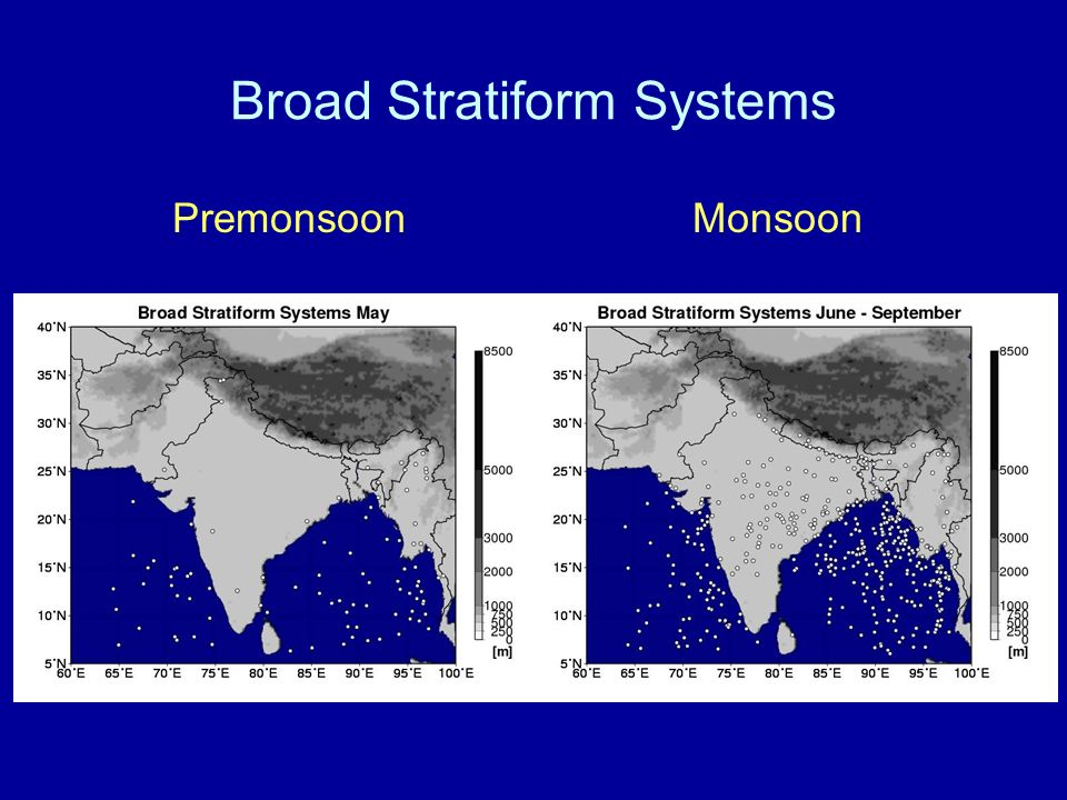 Broad Stratiform Systems