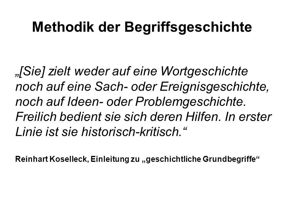 Methodik der Begriffsgeschichte