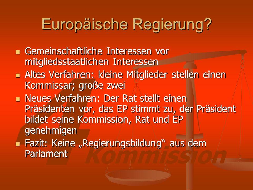 Europäische Regierung