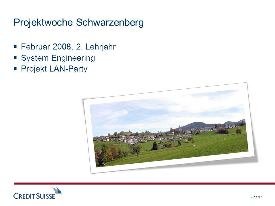 Projektwoche Schwarzenberg