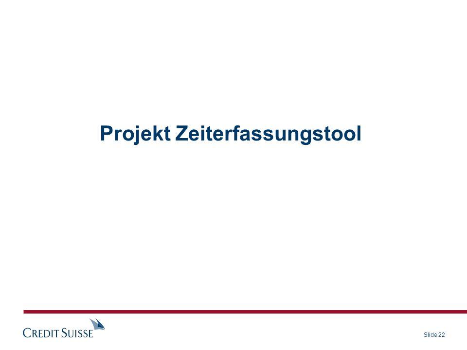 Projekt Zeiterfassungstool