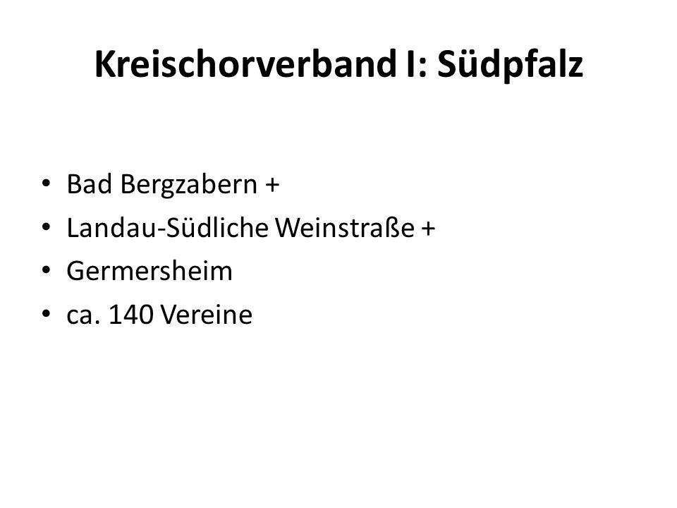 Kreischorverband I: Südpfalz