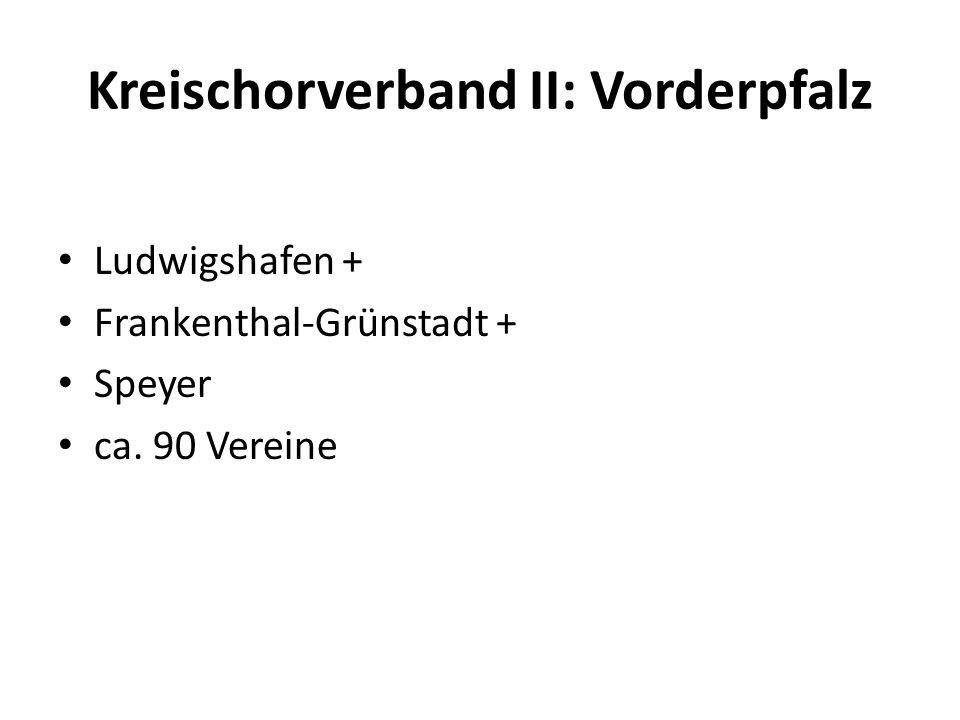 Kreischorverband II: Vorderpfalz