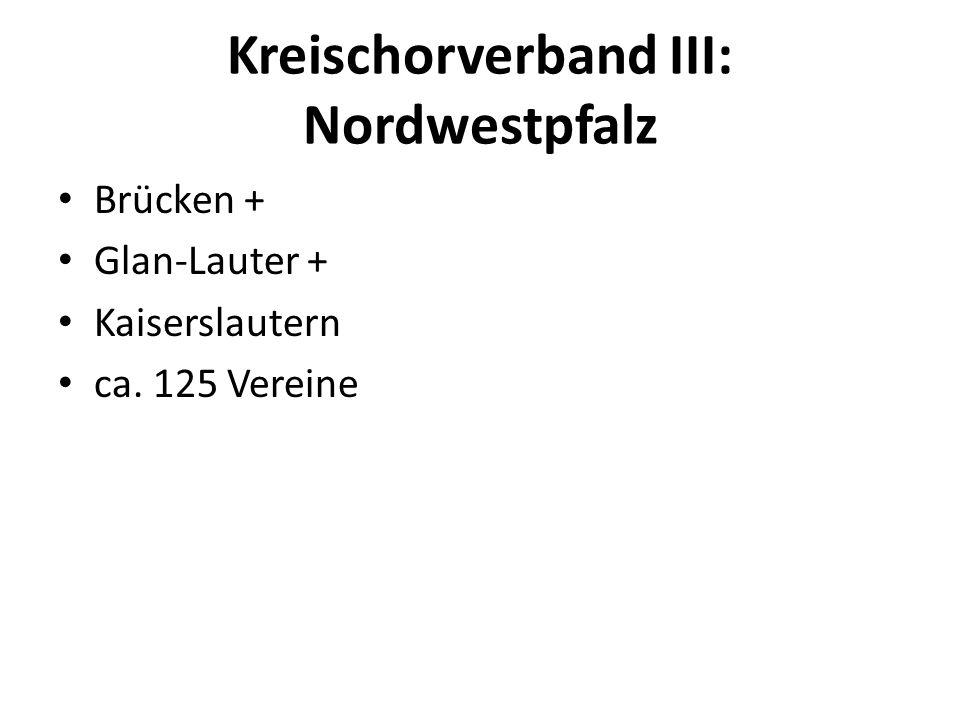 Kreischorverband III: Nordwestpfalz