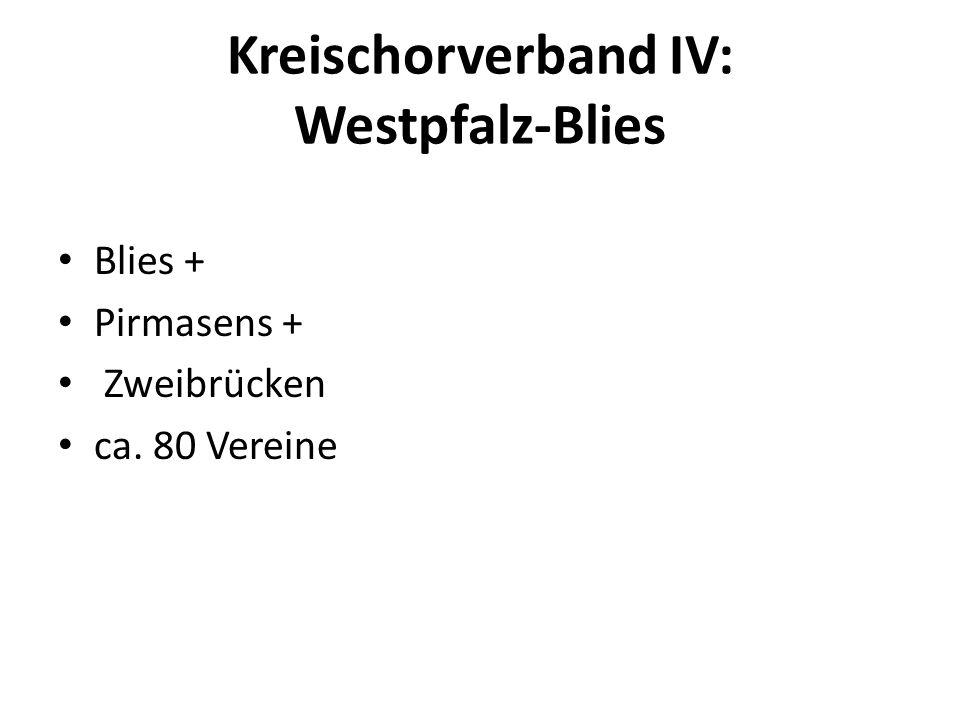 Kreischorverband IV: Westpfalz-Blies