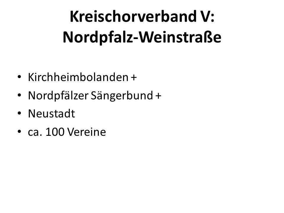 Kreischorverband V: Nordpfalz-Weinstraße