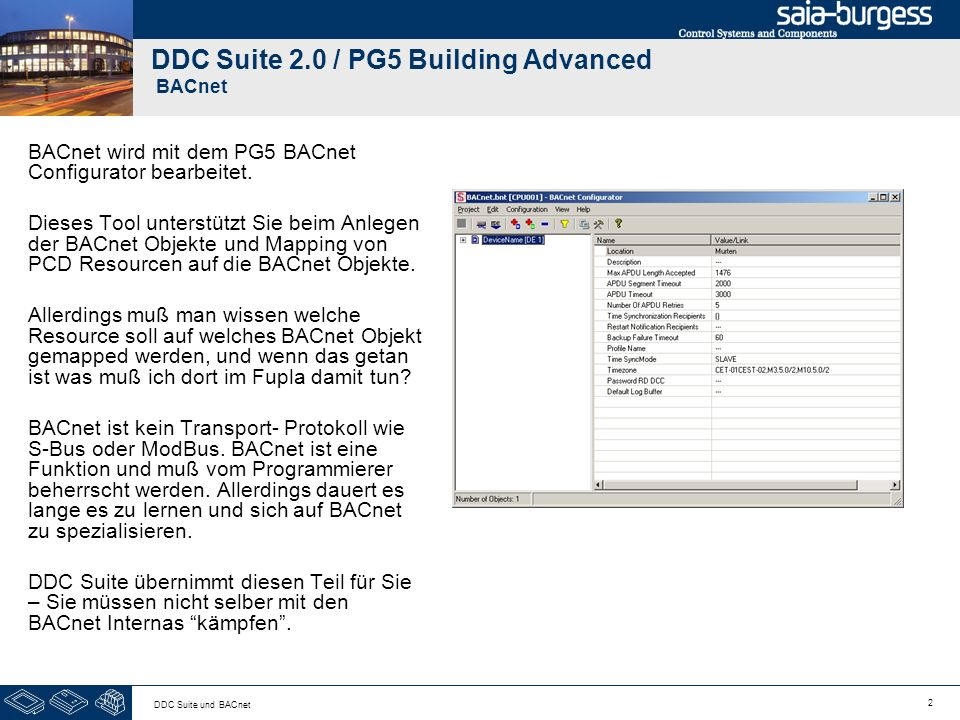 pg5 building advanced ddc suite 2 0 bacnet ppt video. Black Bedroom Furniture Sets. Home Design Ideas