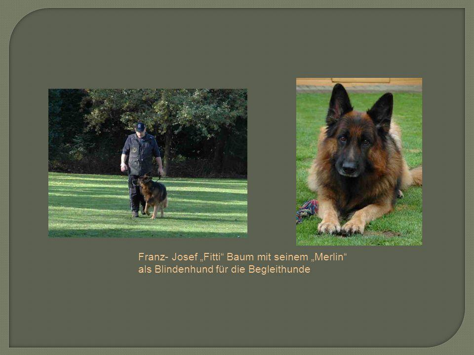 """Franz- Josef """"Fitti Baum mit seinem """"Merlin"""