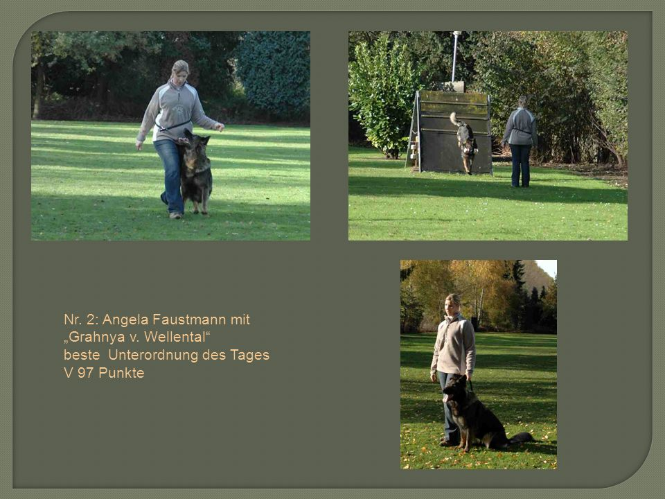 Nr. 2: Angela Faustmann mit