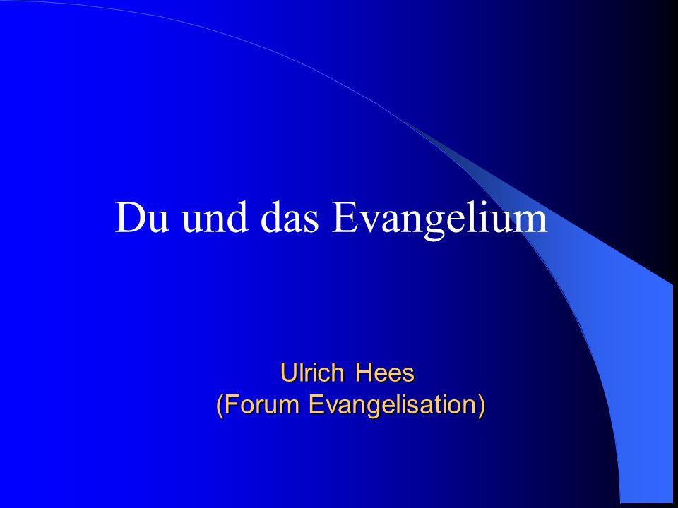 Ulrich Hees (Forum Evangelisation)