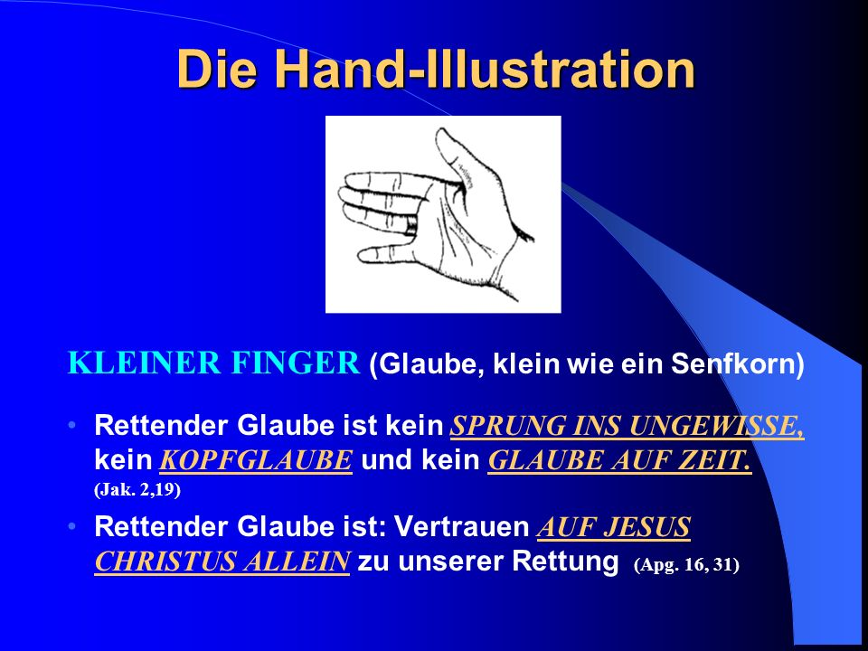 Die Hand-Illustration