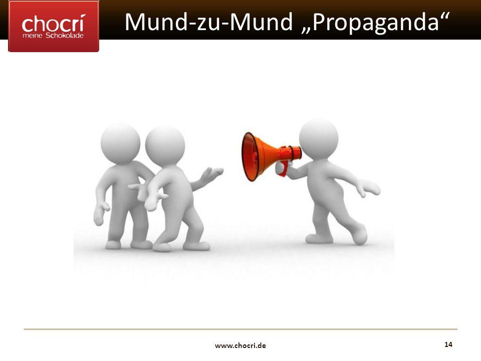 """Mund-zu-Mund """"Propaganda"""
