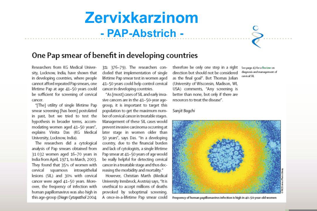 Zervixkarzinom - PAP-Abstrich - Aldara 11 10