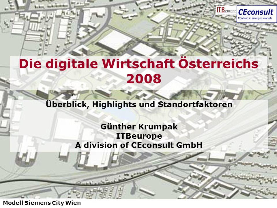 Die digitale Wirtschaft Österreichs 2008