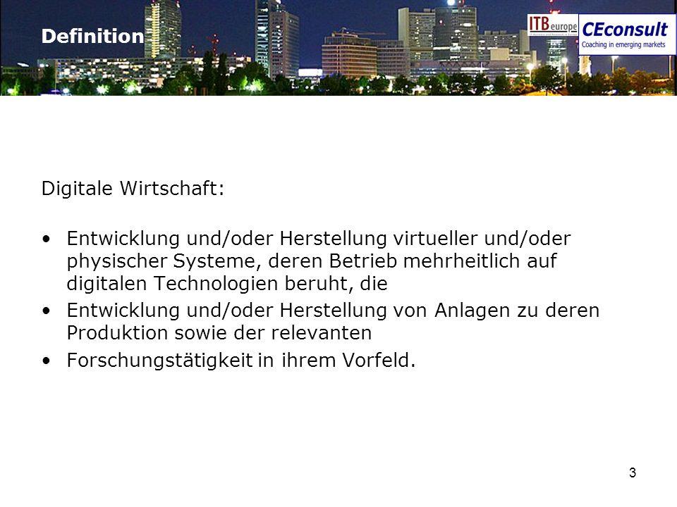 DefinitionDigitale Wirtschaft: