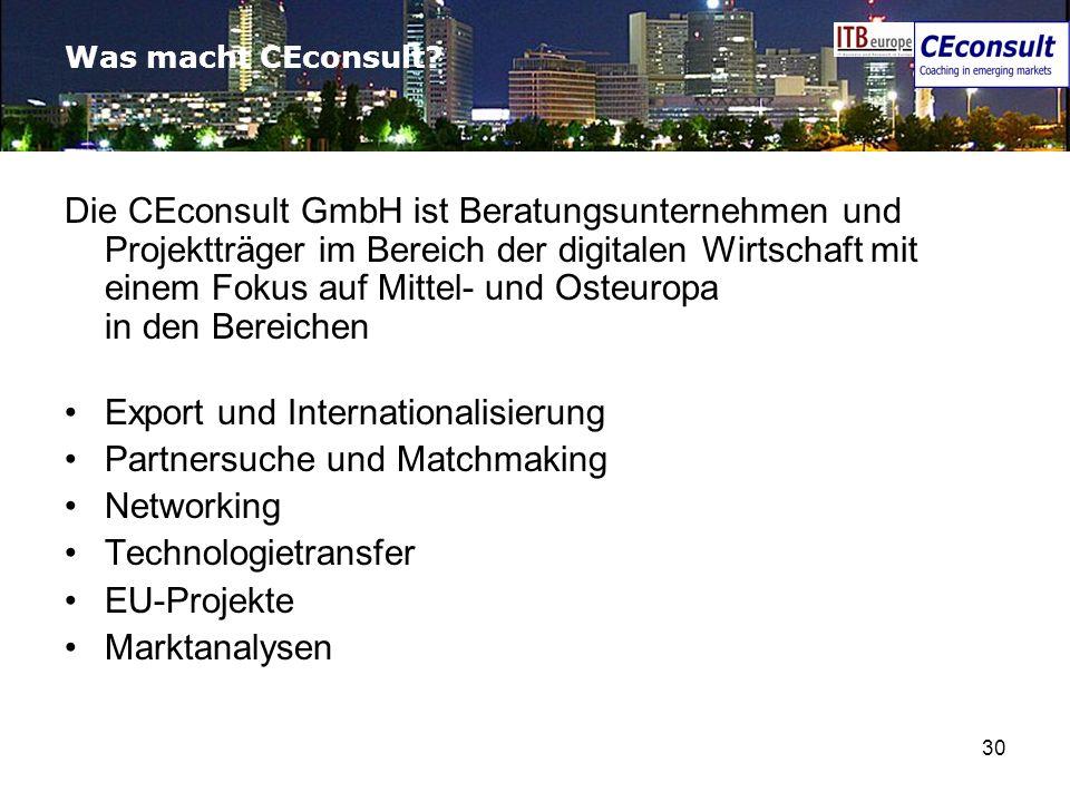 Export und Internationalisierung Partnersuche und Matchmaking