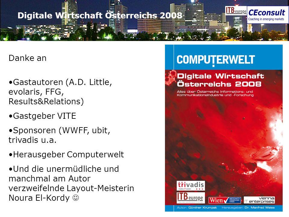 Digitale Wirtschaft Österreichs 2008