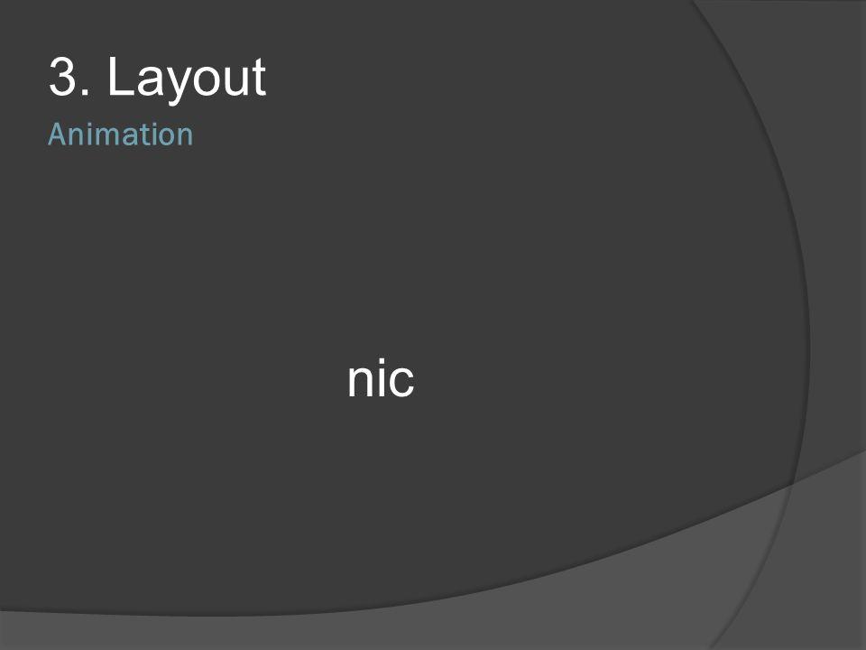 3. Layout Animation nic