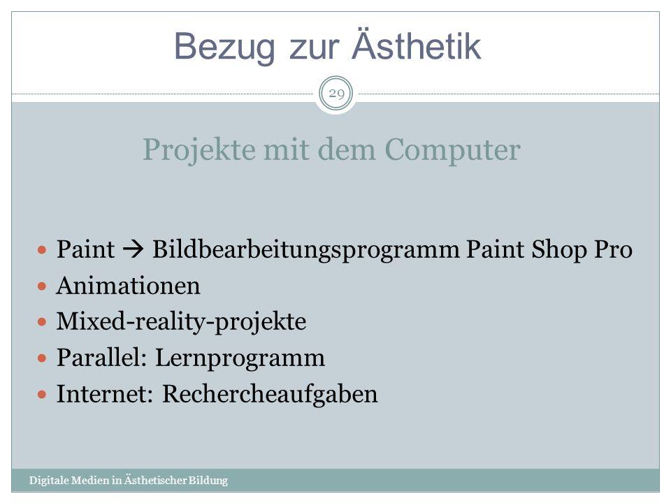 Projekte mit dem Computer