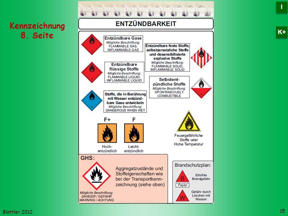 I K+ Kennzeichnung 8. Seite Blattler 2012