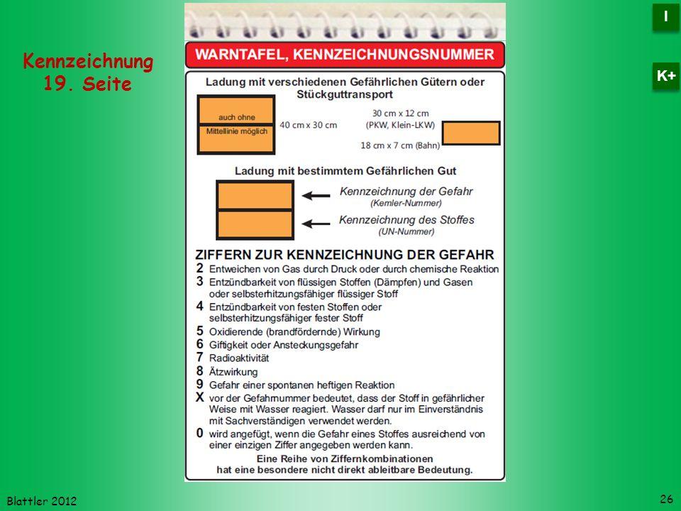 I K+ Kennzeichnung 19. Seite Blattler 2012