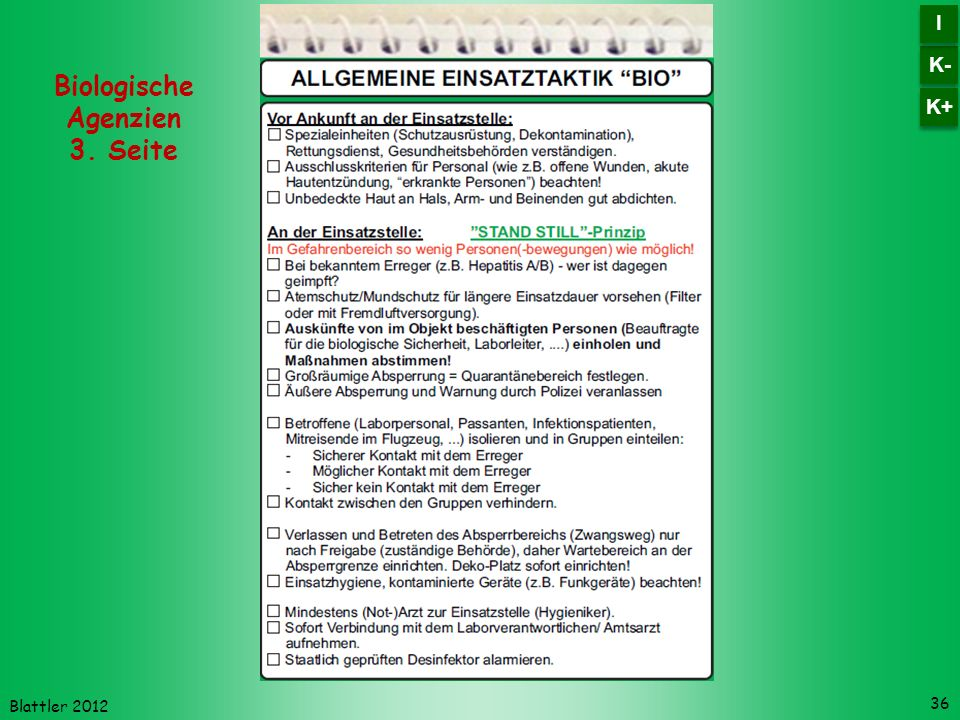 Biologische Agenzien 3. Seite