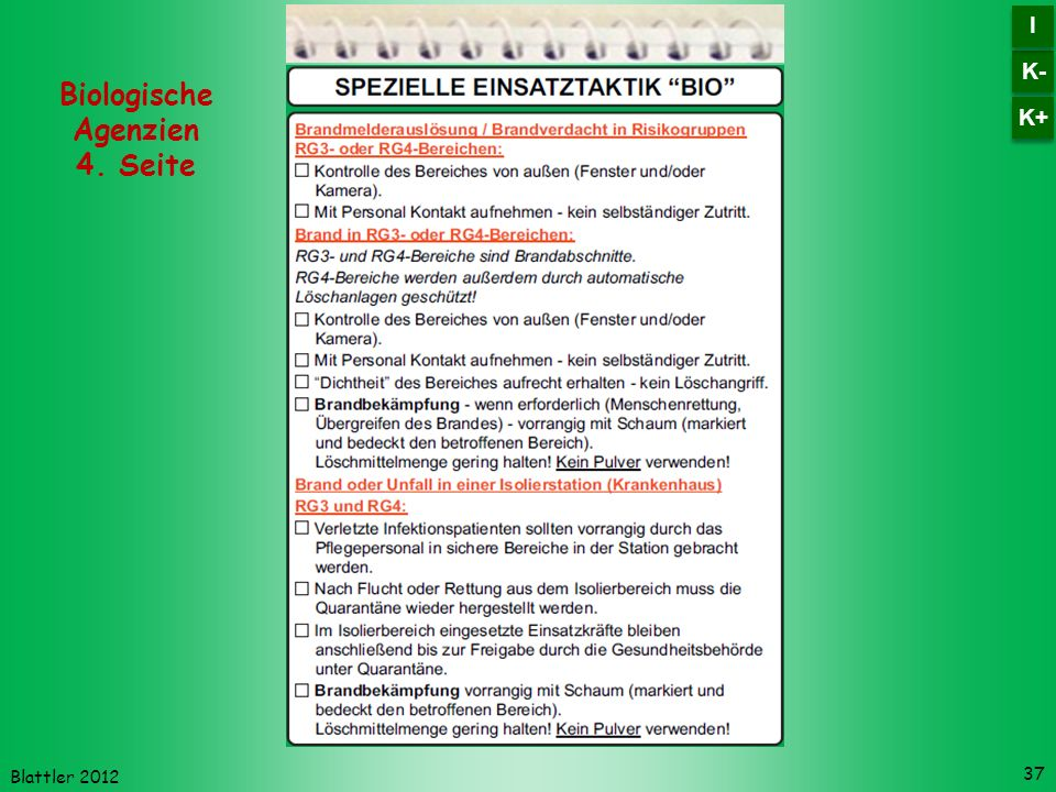 Biologische Agenzien 4. Seite