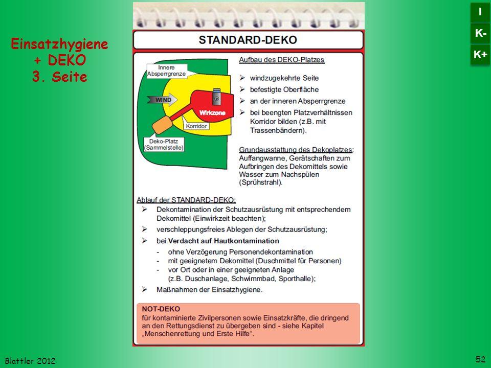 Einsatzhygiene + DEKO 3. Seite