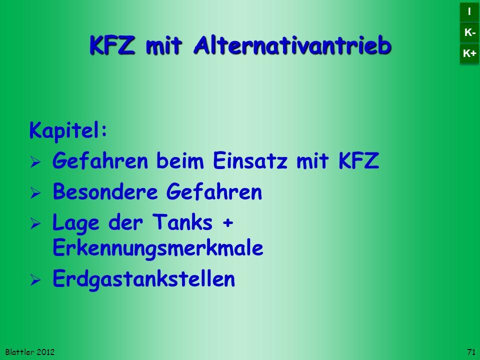 KFZ mit Alternativantrieb