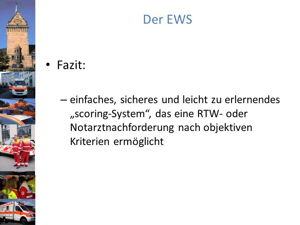 Der EWS Fazit: