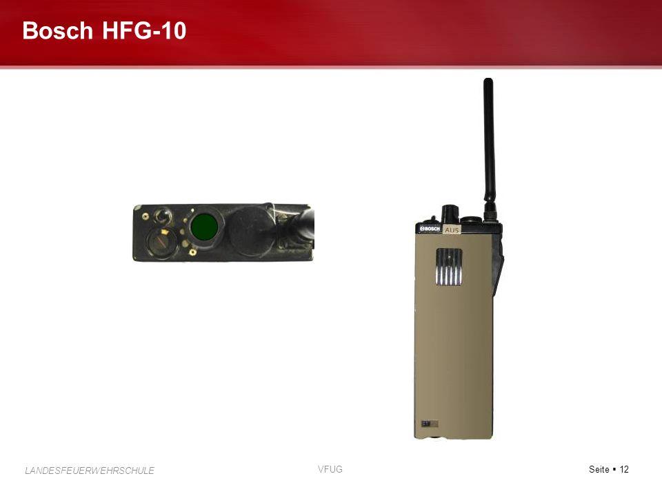 Bosch HFG-10 VFUG