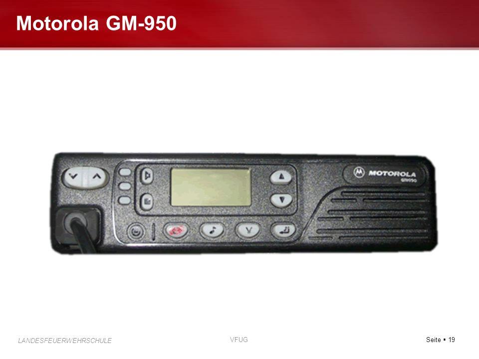 Motorola GM-950 VFUG