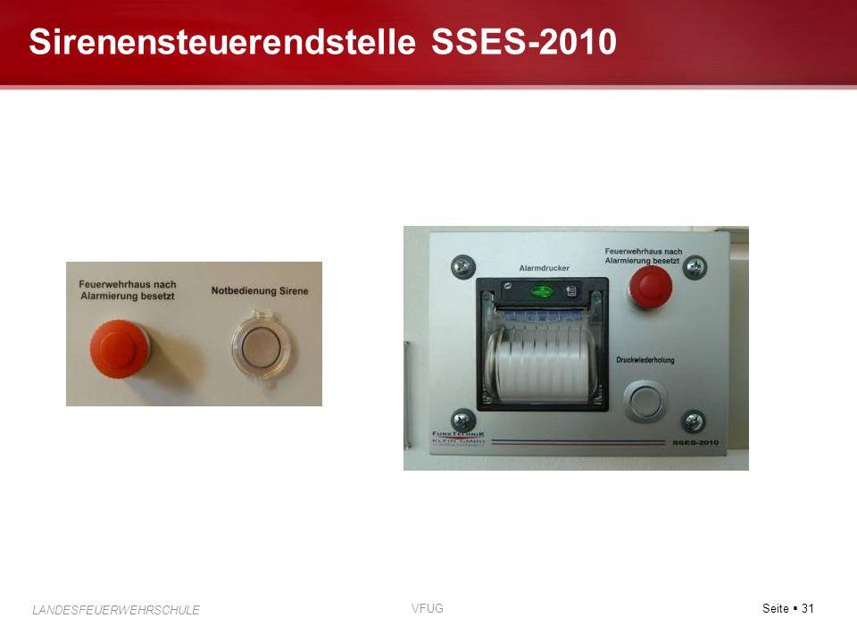 Sirenensteuerendstelle SSES-2010