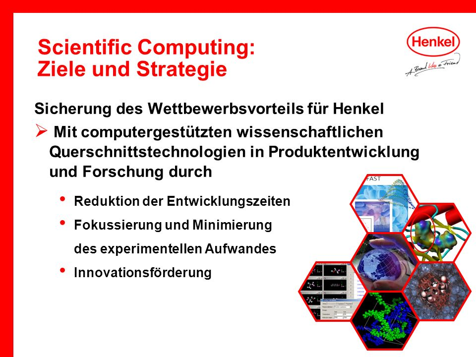 Scientific Computing: Ziele und Strategie