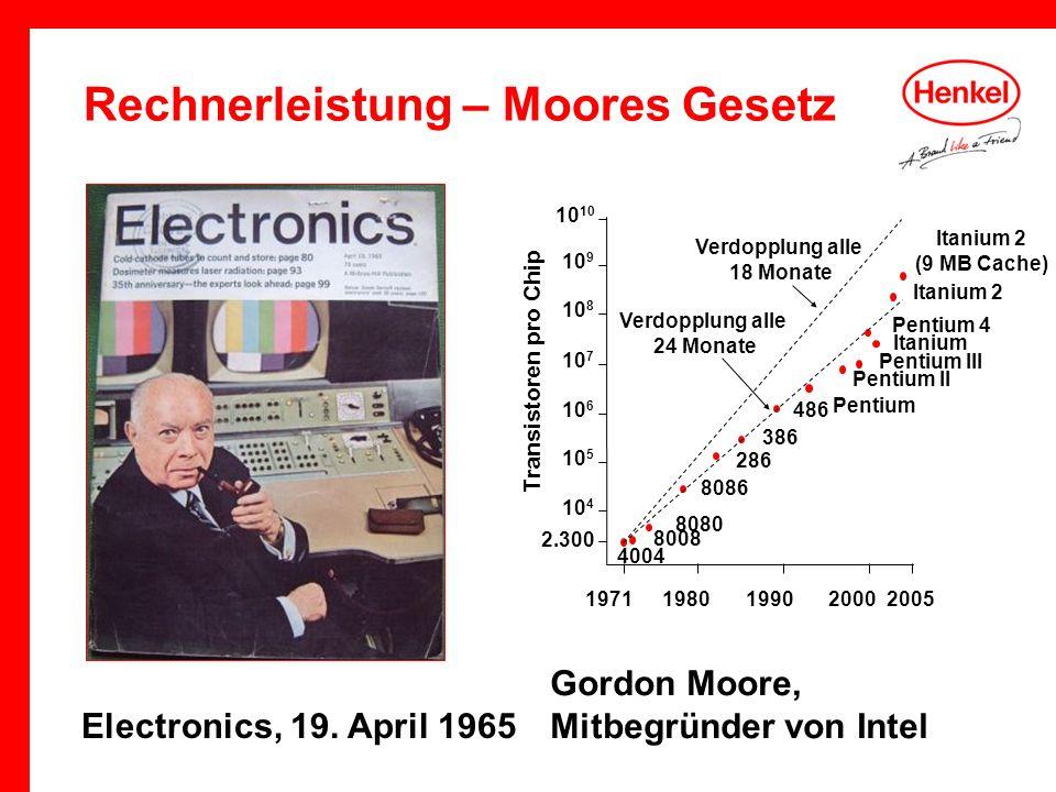 Rechnerleistung – Moores Gesetz