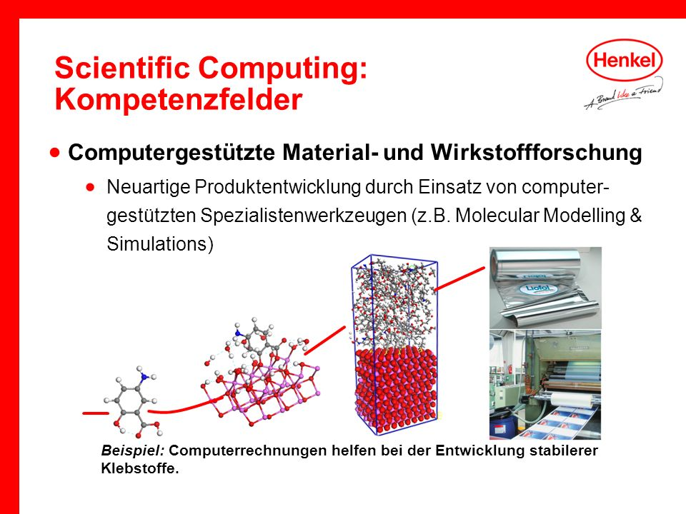 Scientific Computing: Kompetenzfelder
