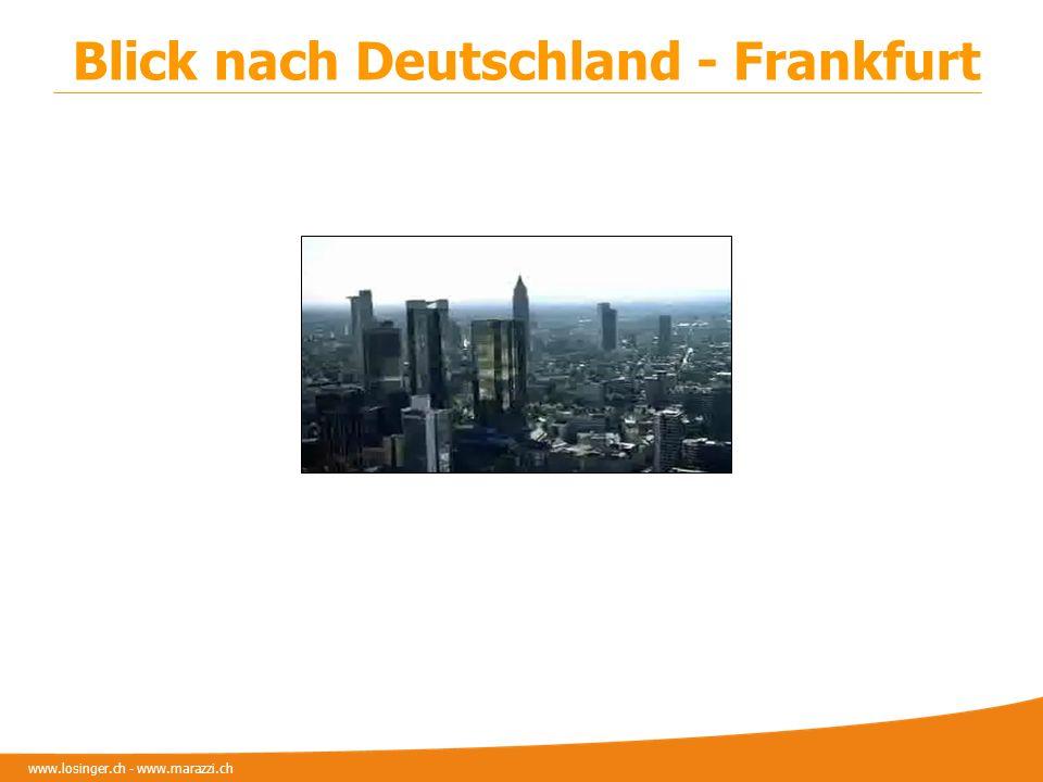 Blick nach Deutschland - Frankfurt