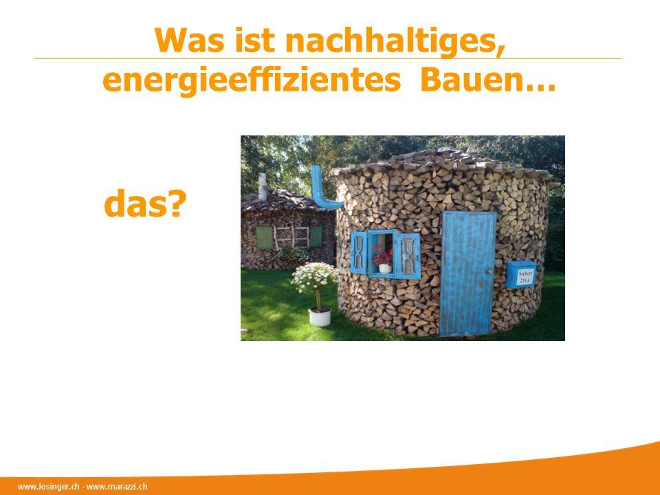 Was ist nachhaltiges, energieeffizientes Bauen…